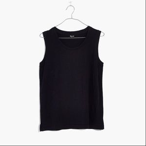 [NWT] Madewell Muscle Tank in Black